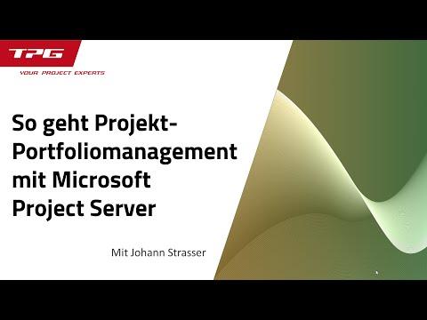So geht Projekt-Portfoliomanagement mit MS Project Server / Project Online