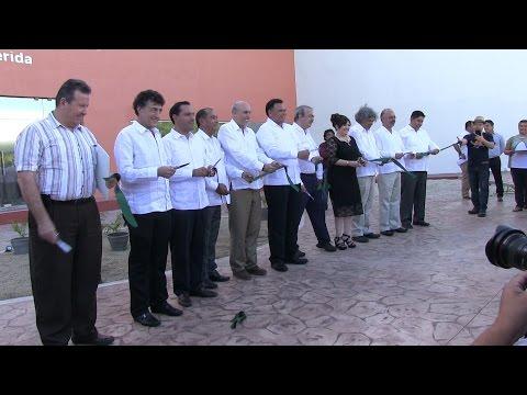 Inauguración del edificio de la unidad Mérida
