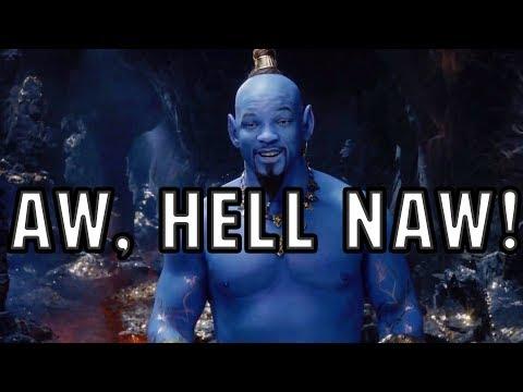 Aladdin (2019) Trailer Reaction