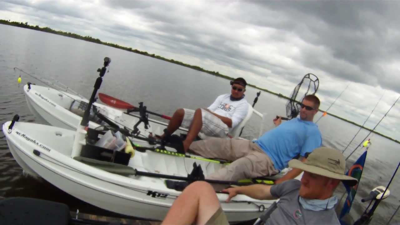 Louisiana redfish kayak fishing youtube for Kayak fishing louisiana