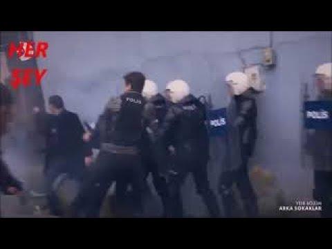 Arka Sokaklar 543.bölüm Belalı Mahallede çatışma! Polis Timi Ve Ekip Birlikte çalışıyor.