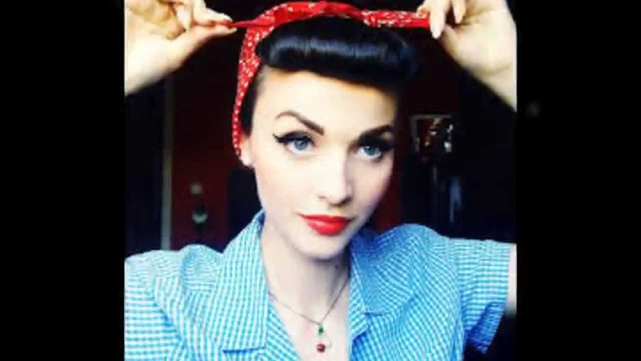 como hacer diademas estilo pin up