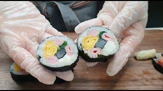 예쁜김밥만들기_봄나들이김밥_재료 간단하니 같이 만들어 …