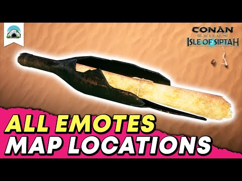 All Emote Locations - Guide | Conan Exiles: Isle of Siptah |