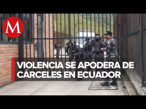 En Ecuador, mueren al menos 50 reos tras motines en tres cárceles