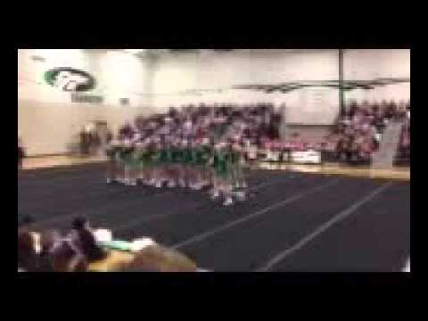 Julia at Cheer competition