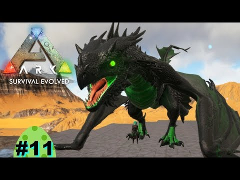 Ark Survival Evolved on the Raganok Map, Episode 11: Holly's Top tames Primal + Pugnacia Dinos.