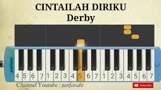 lagu derby cintailah diriku pianika