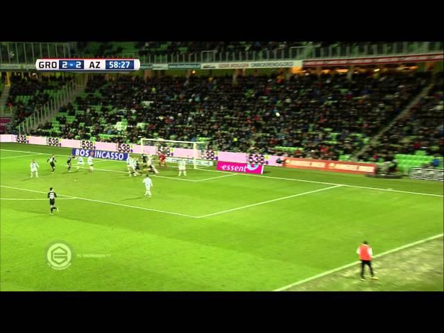 Samenvatting FC Groningen - AZ 2-4 (2014-2015)