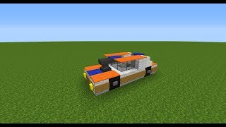 машины в minecraft- Посаженное авто