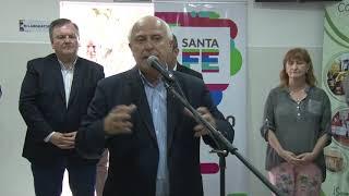 Lifschitz inauguró obras de alumbrado en el departamento San Cristóbal