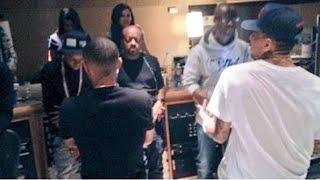 Wizkid & Chris Brown - African Bad Gyal Studio Session