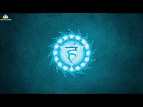 Throat Chakra Healing Meditation Music || vishuddha || Tibetan Singing Bowls Chakra Healing Music