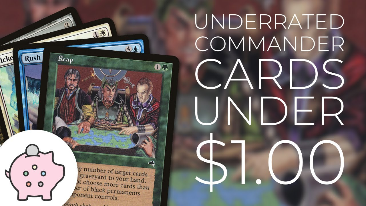 Underrated Budget Commander Cards | Underplayed | Magic the Gathering | EDH  | Quest 4 Quarters #11