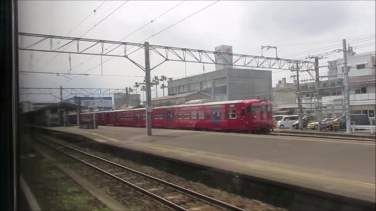 JR宮崎空港線(宮崎~宮崎空港):下り 全区間車窓動画