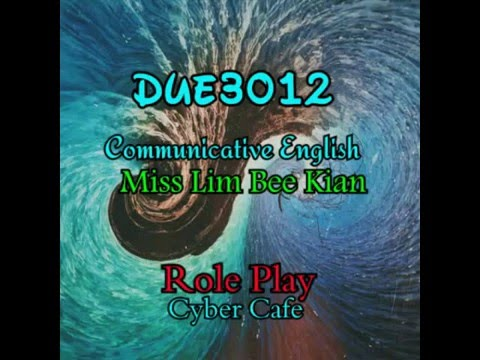 POLISAS Communicative English Role Play - Cyber Cafe