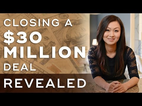 How She Closed $30 Million Dollar Real Estate Deal