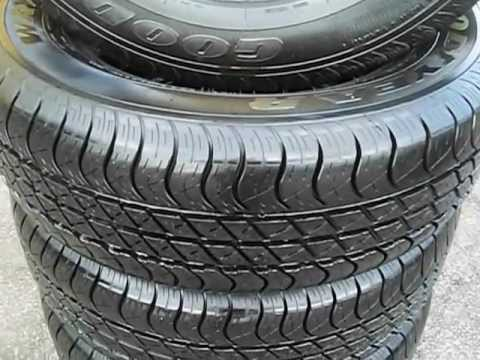 set of tires 235 65 17 goodyear wrangler
