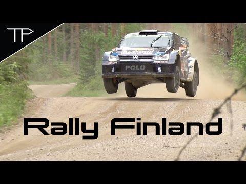 Day 2 Highlights - WRC Neste Oil Rally Finland 2015