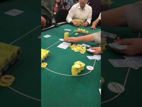 5-way all-in $2500 pot 72 scoops at Commerce