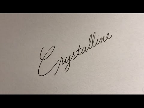 The BEST CURSIVE In WORLD