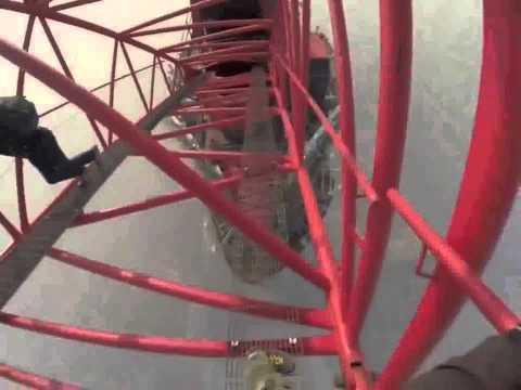 Russian Daredevils Climb Shanghai Tower 650 Meters   Vitaliy Raskalov & Vadim Makhorov