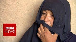 Afghanistan: 'IS set my husband on fire' - BBC News