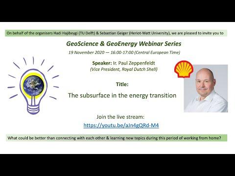 Paul Zeppenfeldt, Shell (Energy Transition)