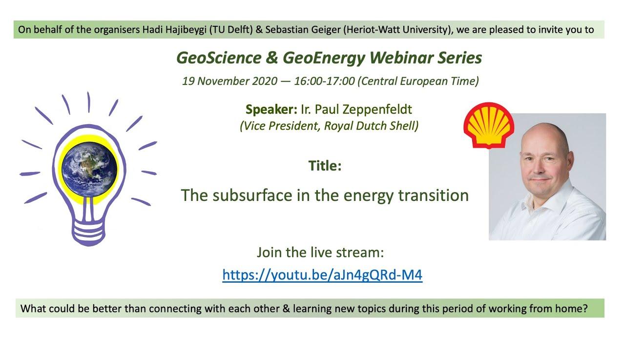 Ir. Paul Zeppenfeldt, Royal Dutch Shell (Energy Transition)