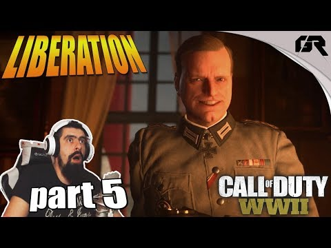 Liberation - Viva La Resistance // CALL OF DUTY WORLD WAR II CAMPAIGN #5