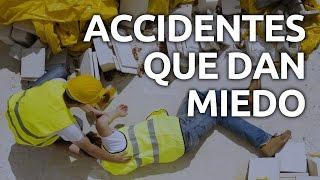 Los accidentes de trabajo más escalofriantes... ¿te animás a verlos?
