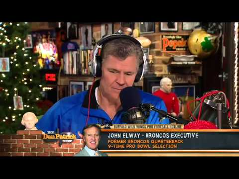 John Elway on The Dan Patrick Show 12/14/12