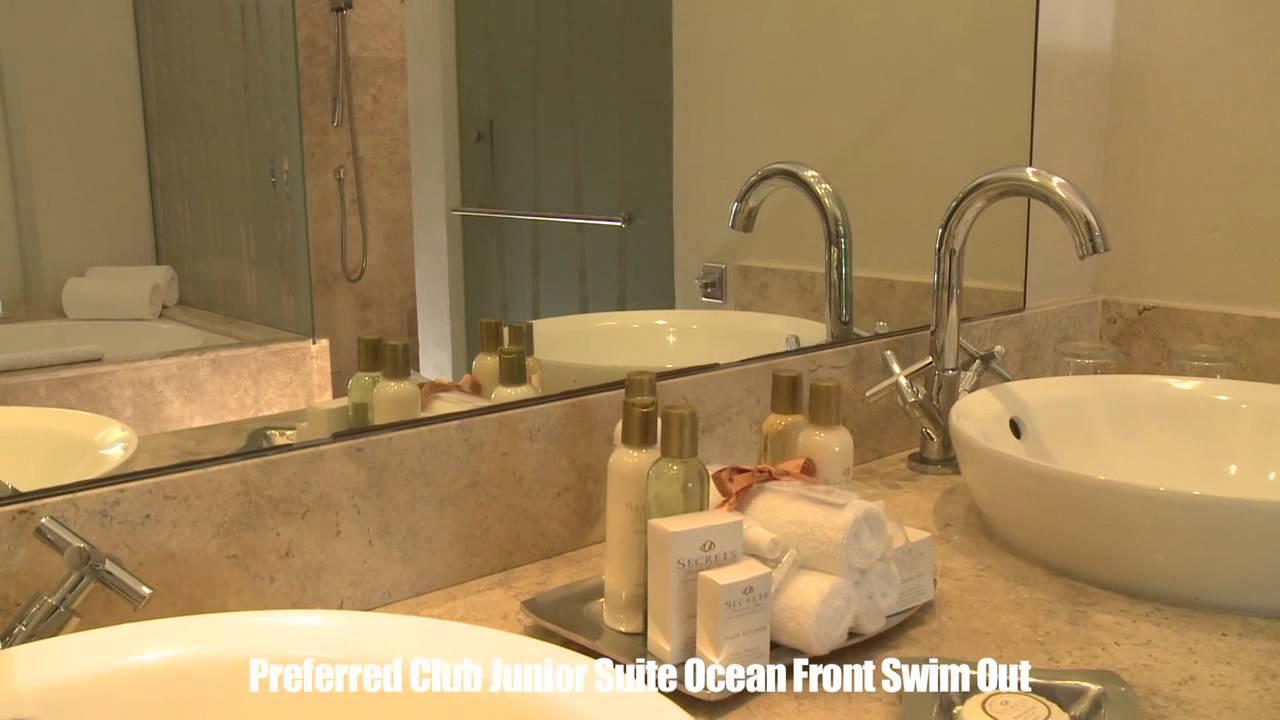Secrets Silversands Preferred Club Junior Suite Ocean