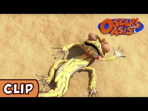 Oscar's Oasis - Fluff the Magic Lizard | HQ | Funny Cartoons