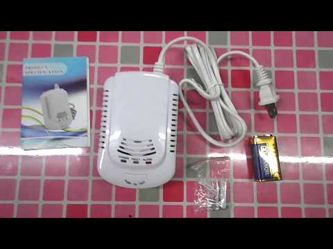 Gas Detector Natural Gas LPG Methane CH4 Leakage Monitor for Home Office Review (Part 2)