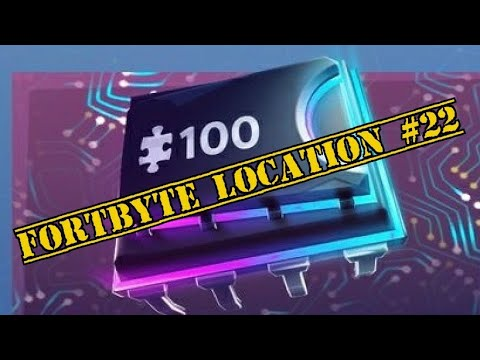 Fortnite FORTBYTE  #22 LOCATION