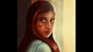 Digital Painting-Painting a Girl in Photoshop