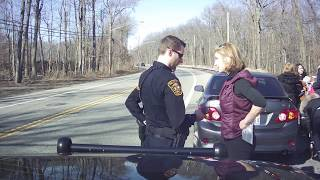 'Shut the F*** Up!' - NJ official tries to push traffic cops around