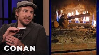 Dax Shepard & Kristen Bell Used Their Daughter's Toy As Kindling - CONAN on TBS