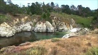 Trails of Point Lobos. Part 1. Gibson beach, Bird Island, China Cove, Weston Beach.
