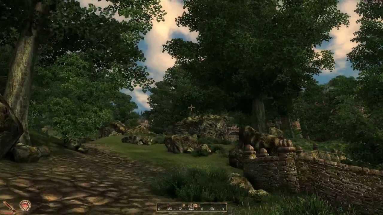 Смотреть видео игры обливион