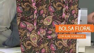 Bolsa Floral – Aline Domingues