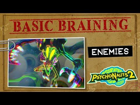 Psychonauts 2 Basic Braining Episode 5 - Enemies