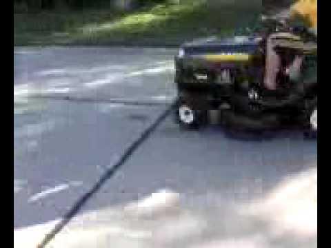Matt and the Mower