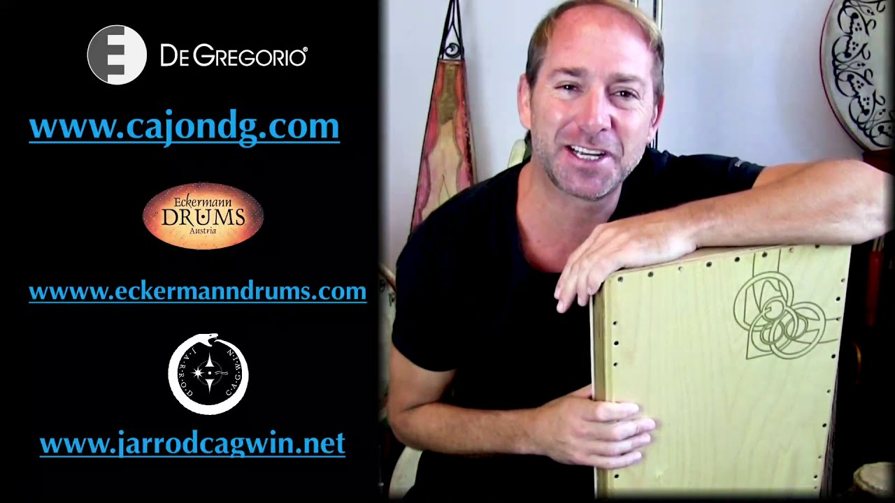 Sunday Morning in Sitges VCAST 11.10.2020:  Cajon DG Sirocco Collapsible Cajon