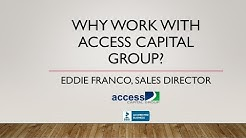 Why Insurance Agents Work With Access Capital Group
