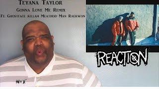 Teyana Taylor - Gonna Love Me Remix Ft. Ghostface Killah Method Man Raekwon - NTX React's