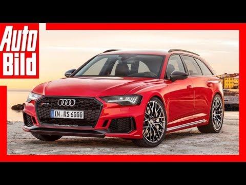 Zukunftsaussicht Audi Rs 6 Avant 2019 Youtube