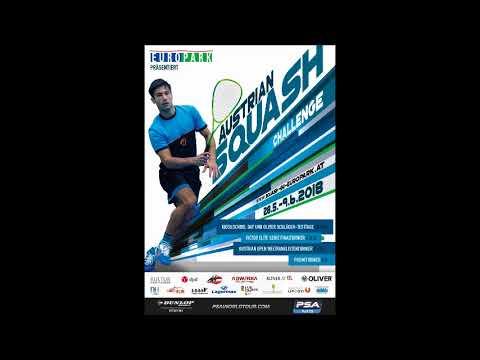 Austrian Squash Challenge 2018 Interview on ORF Radio Salzburg ASC May 30  0940