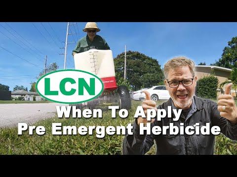 When To Apply Pre Emergent Herbicide To The Lawn